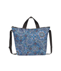 LeSportsac - Totes - Deluxe Easy Carry Tote - Sevilla Splendor print