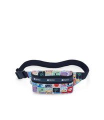 Double Zip Belt Bag, Accessories and Cosmetic Bag, Lesportsac, Exclusive NY to LA print
