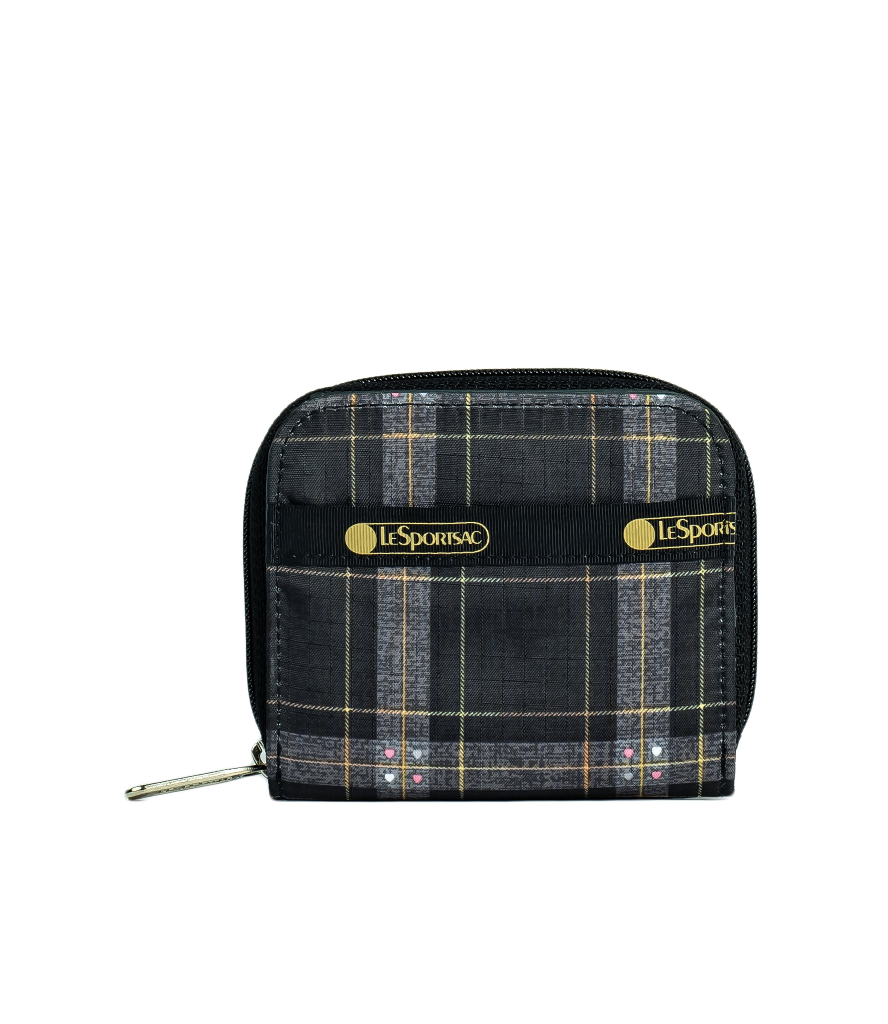 LeSportsac - Accessories - Claire Wallet - Sweet Plaid Noir print
