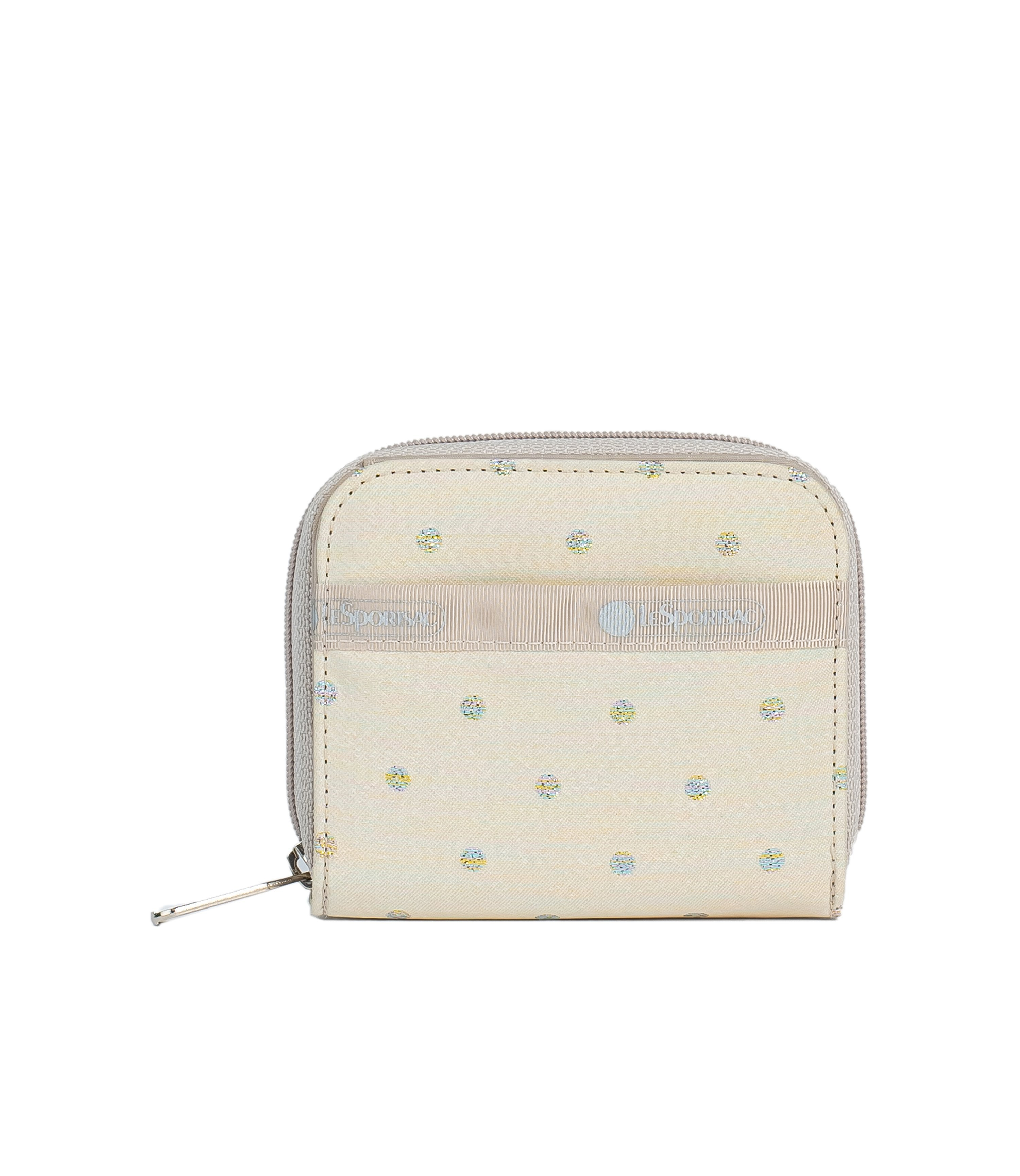 LeSportsac - Accessories - Claire Wallet - Rainbow Dot jacquard