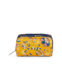 Rectangular Cosmetic, Accessories, Makeup and Cosmetic Bags, LeSportsac, Golden print