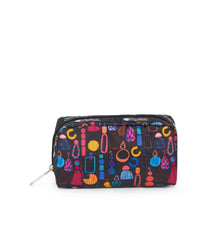 Rectangular Cosmetic, Accessories, Makeup and Cosmetic Bags, LeSportsac, Adorn print