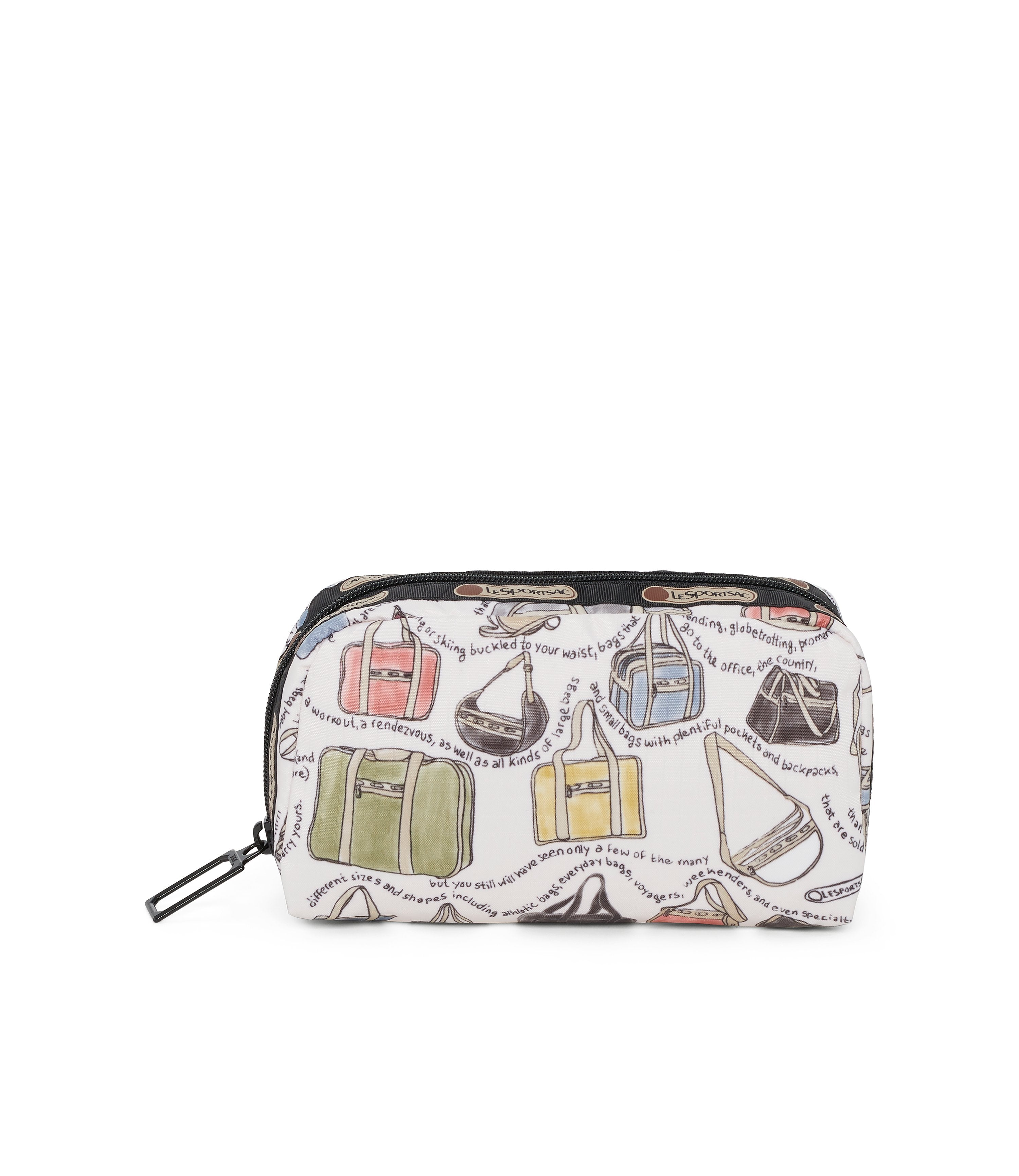 Rectangular Cosmetic, Accessories, Makeup and Cosmetic Bags, LeSportsac, LeSportsac History print