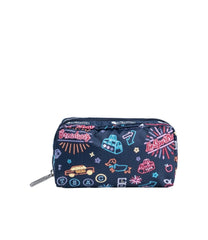 LeSportsac - Accessories - Rectangular Cosmetic - Neon Nights print