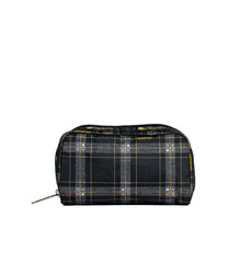 LeSportsac - Accessories - Rectangular Cosmetic - Sweet Plaid Noir print