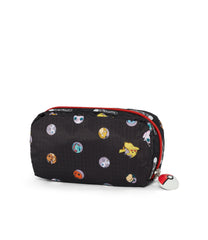 Pokémon Rectangular Cosmetic-LeSportsac-Small-PokéBall-Pouch-back