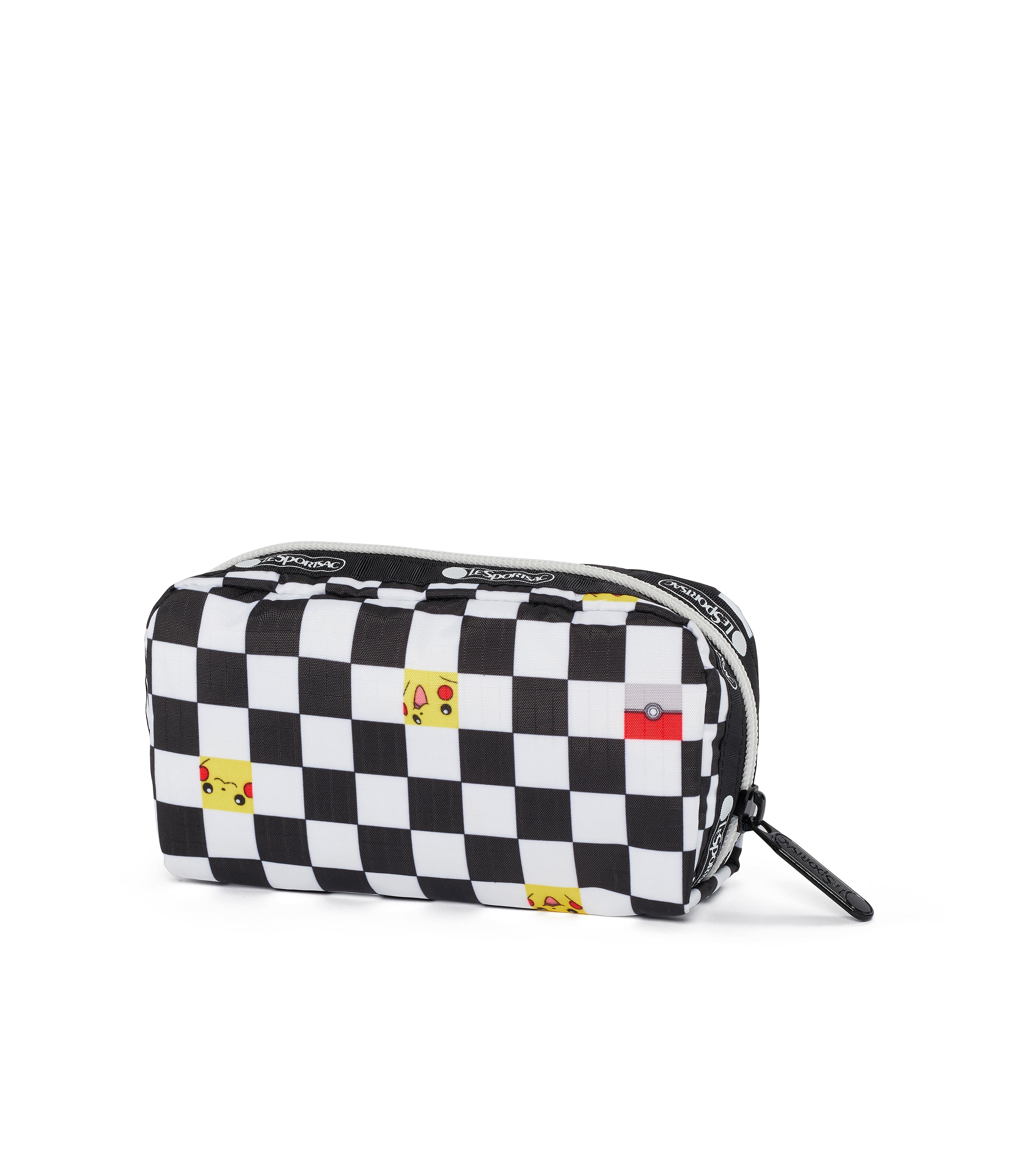 Pokémon Rectangular Cosmetic-LeSportsac-Small-Pikachu-Pouch-back