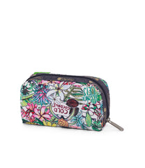 LeSportsac - Rectangular Cosmetic - Accessories - Exclusive! Aloha Market print - Back View