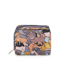 Square Cosmetic, Accessories, Makeup and Cosmetic Bags, LeSportsac, Kon and Friends print