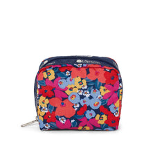 LeSportsac - Square Cosmetic - Accessories - Bright Isle Floral print