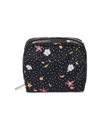 LeSportsac - Square Cosmetic - Accessories - Fruity Petals print