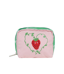 LeSportsac - Accessories - Square Cosmetic - Berry Cute