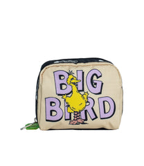 LeSportsac - Accessories - Square Cosmetic - Big Bird and Snuffy