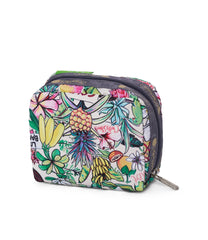 LeSportsac - Square Cosmetic - Accessories - Exclusive! Aloha Market print - Back View