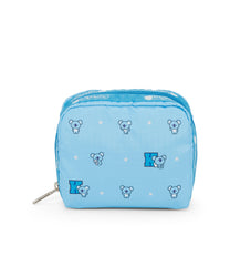 Square Cosmetic, Line Friends, BTS Cosmetic Bag, LeSportsac, Character print, BT21 KOYA