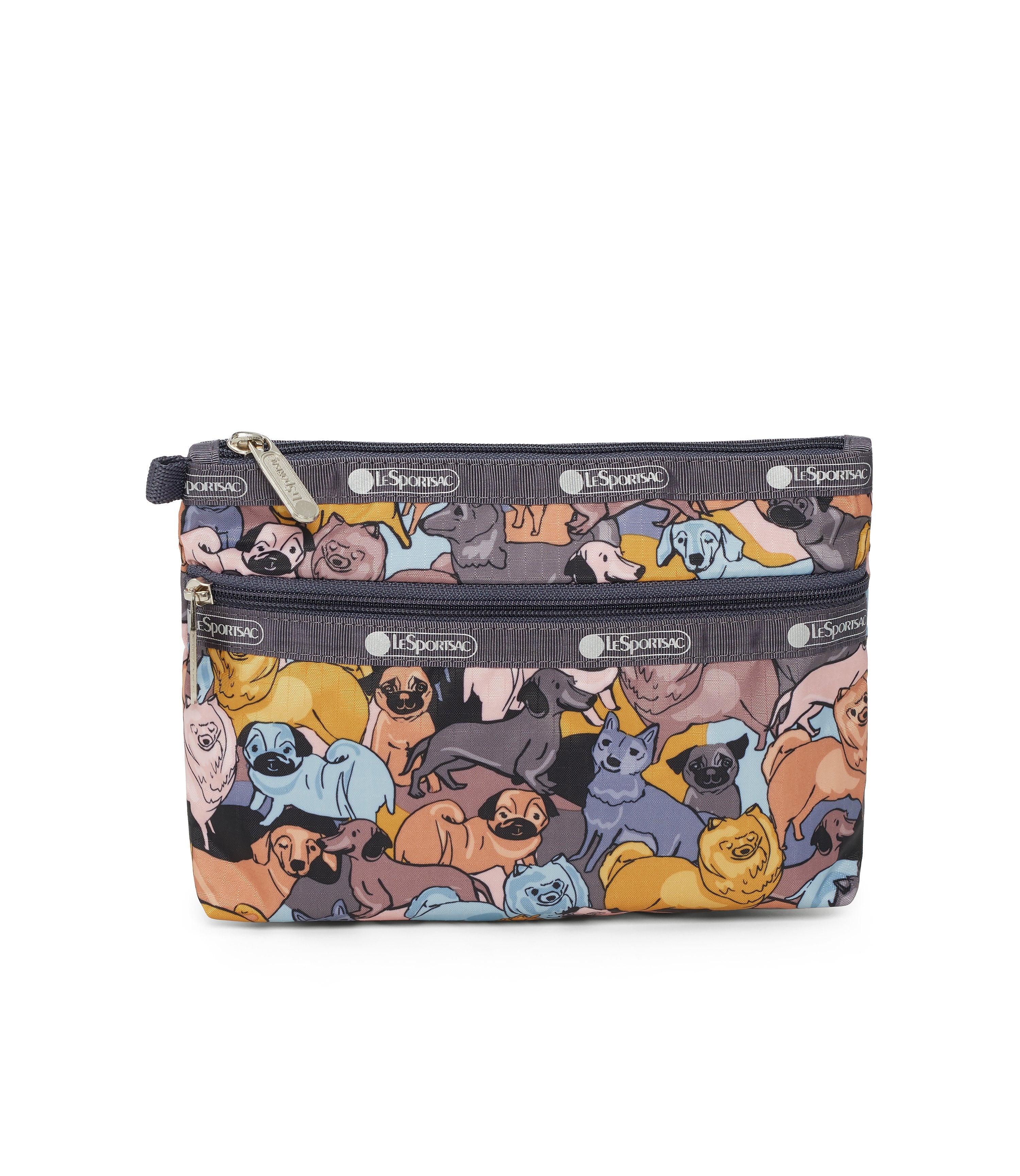 Cosmetic Clutch, Accessories and Cosmetic Bag, LeSportsac, Kon and Friends print