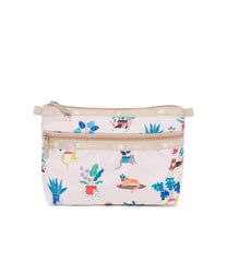 LeSportsac - Cosmetic Clutch - Accessories - Comfy Cats print