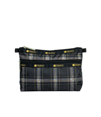 LeSportsac - Accessories - Cosmetic Clutch - Sweet Plaid Noir print