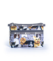 LeSportsac - Cosmetic Clutch - Accessories - Puppy Park print