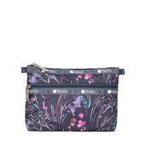 LeSportsac - Accessories - Cosmetic Clutch - Windswept Floral Shadow print