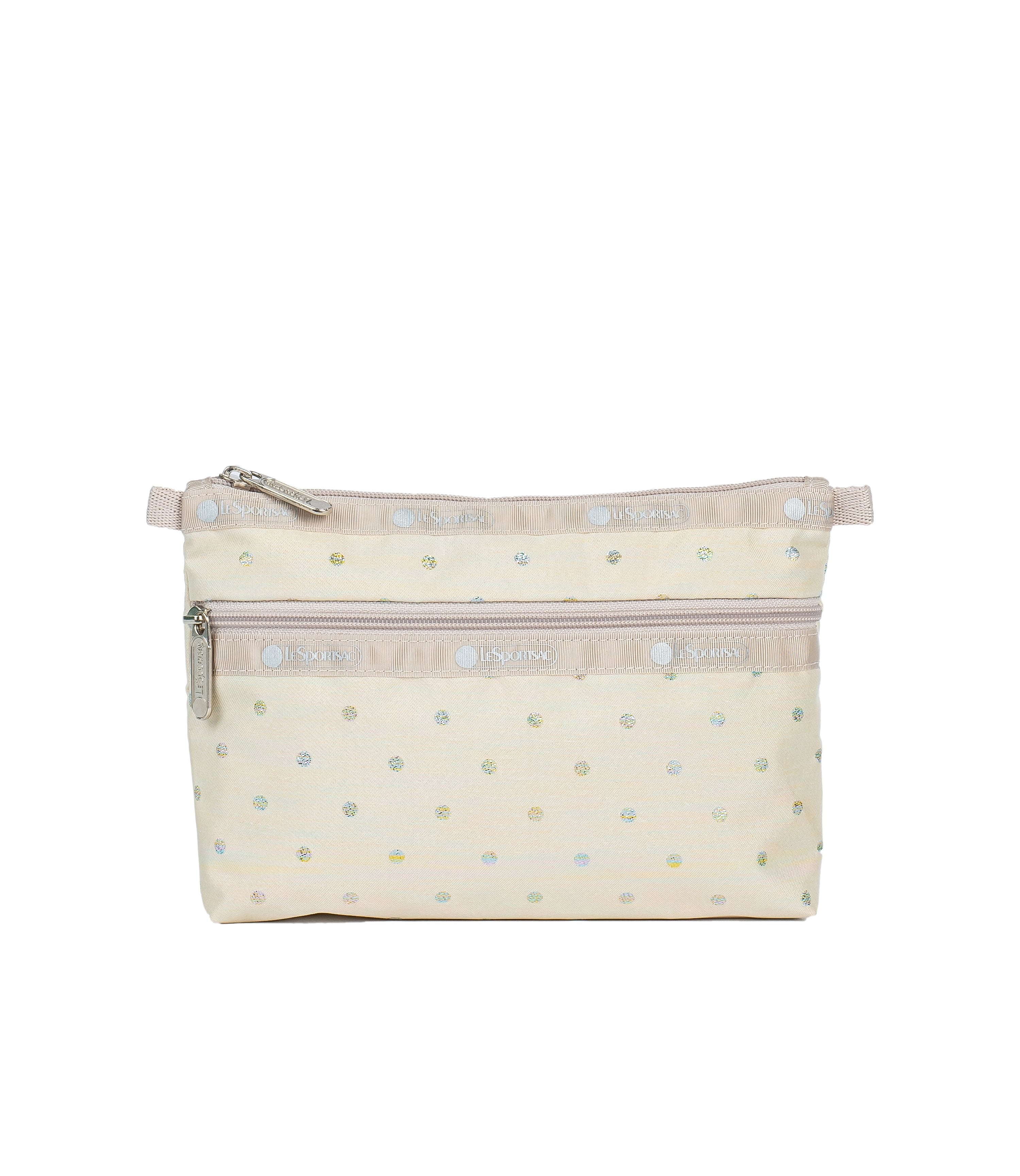 LeSportsac - Accessories - Cosmetic Clutch - Rainbow Dot jacquard