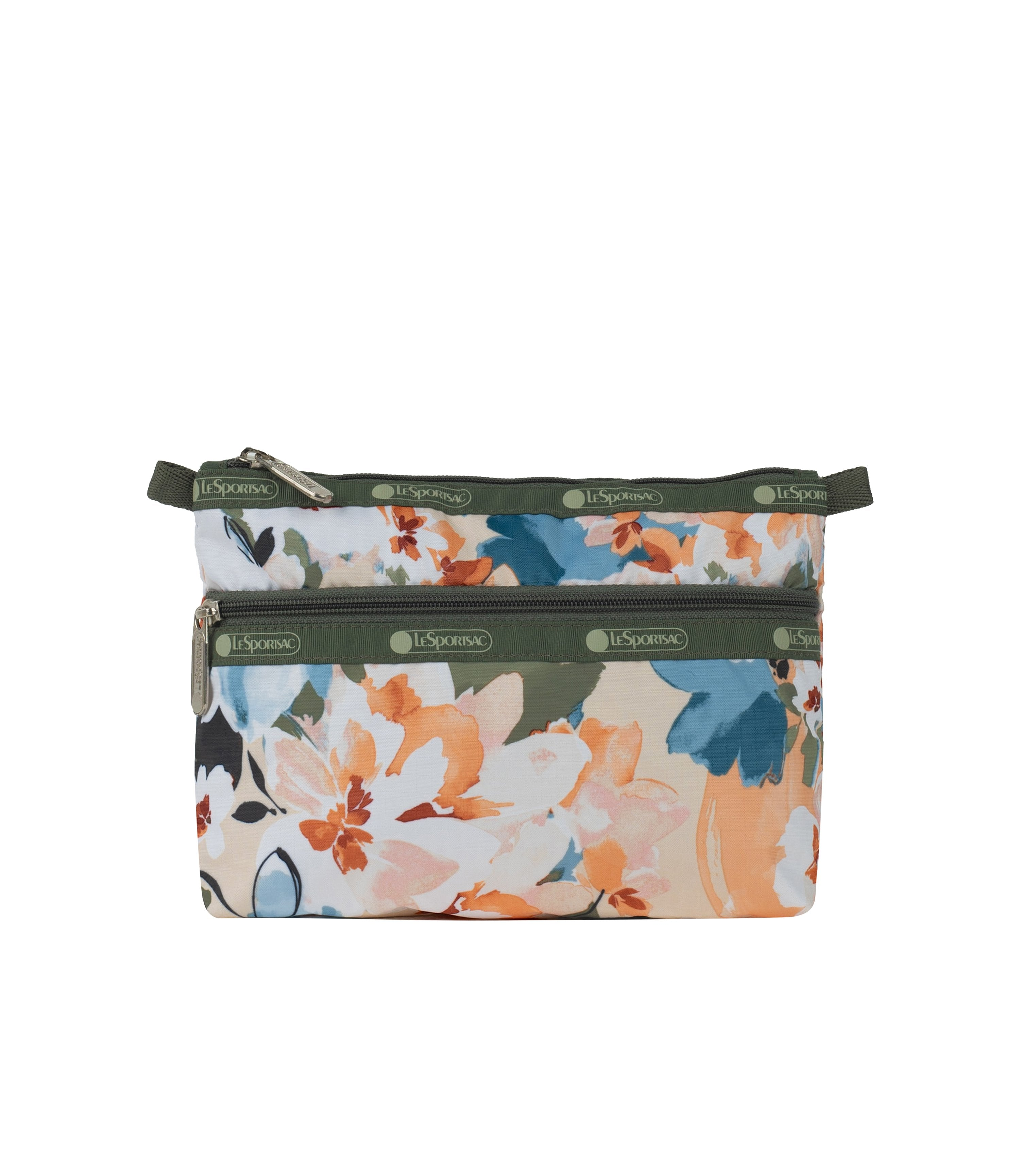 LeSportsac - Accessories - Cosmetic Clutch - Painterly Blooms print