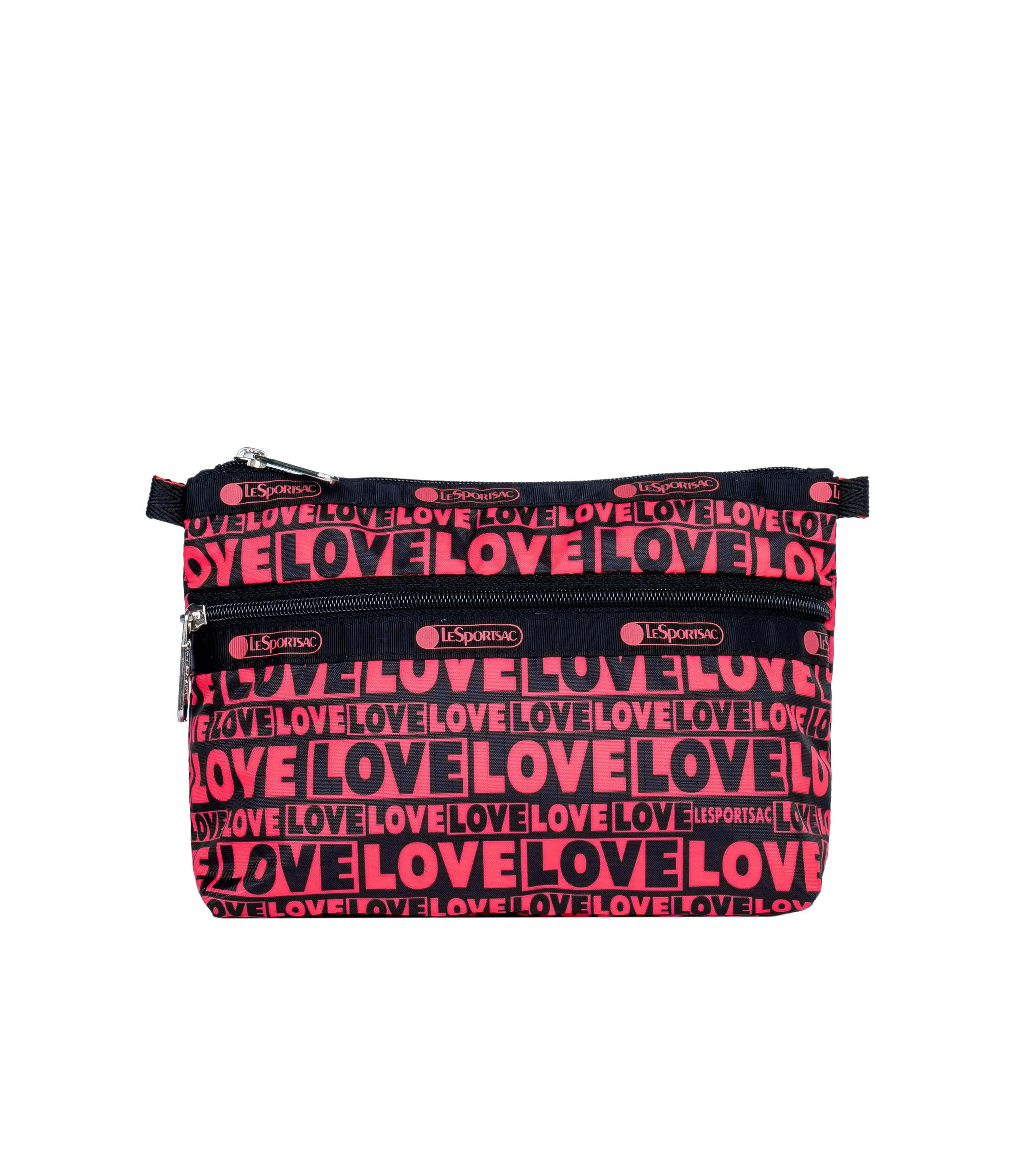 LeSportsac - Accessories - Cosmetic Clutch - Only Love print