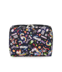 XL Rectangular Cosmetic, Accessories and Cosmetic Bag, LeSportsac, Tolietry Bag, Yaas print