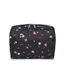 LeSportsac - XL Rectangular Cosmetic - Accessories - Fruity Petals print