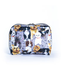 LeSportsac - XL Rectangular Cosmetic - Accessories - Puppy Park print