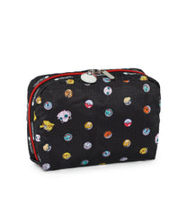 Pokemon - XL Rectangular Cosmetic - Accessories - Pokémon Dot - Back View