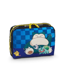 Pokemon - XL Rectangular Cosmetic - Accessories - Team Pokemon - Pikachu-Bulbasaur-Mew