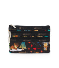 3-Zip Cosmetic, Accessories and Cosmetic Bag, LeSportsac, Hello Bears print