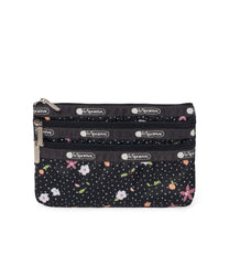 LeSportsac - 3-Zip Cosmetic - Accessories - Fruity Petals print