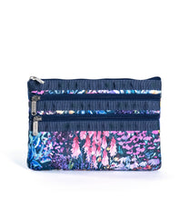LeSportsac - 3-Zip Cosmetic - Accessories - Soho Garden print