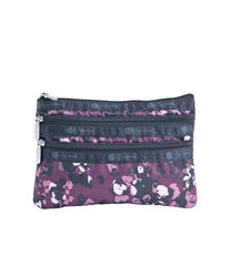 LeSportsac - Accessories - 3-Zip Cosmetic - Lafayette Leopard print