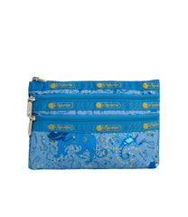 LeSportsac - Accessories - 3-Zip Cosmetic - Zodiac Sky print