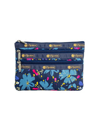 LeSportsac - Accessories - 3-Zip Cosmetic - Blowout Floral print
