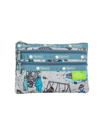 LeSportsac - Accessories - 3-Zip Cosmetic - Sesame Park