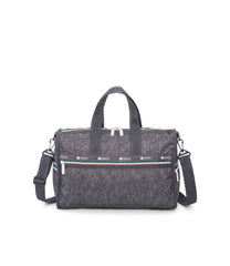 Medium Weekender Bags, Duffle Bags, LeSportsac, Sporty Denim print
