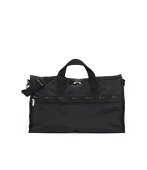 Large Weekender Bags, Duffle Bags, Carry-on, LeSportsac, Black Solid