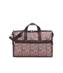 Large Weekender Bags, Duffle Bags, Carry-on, LeSportsac, Floral, Classic, Festivities print
