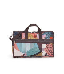 Large Weekender Bags, Duffle Bags, Carry-on, LeSportsac, colorful, LeCollage print, Sale