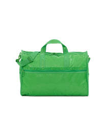 Large Weekender Bags, Duffle Bags, Carry-on, LeSportsac, Heritage, Green Patent