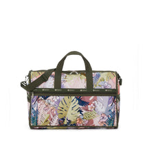 Large Weekender Bags, Duffle Bags, Carry-on, LeSportsac, South Beach Floral print, tropical