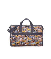 Large Weekender Bags, Duffle Bags, Carry-on, LeSportsac, Kon and Friends print