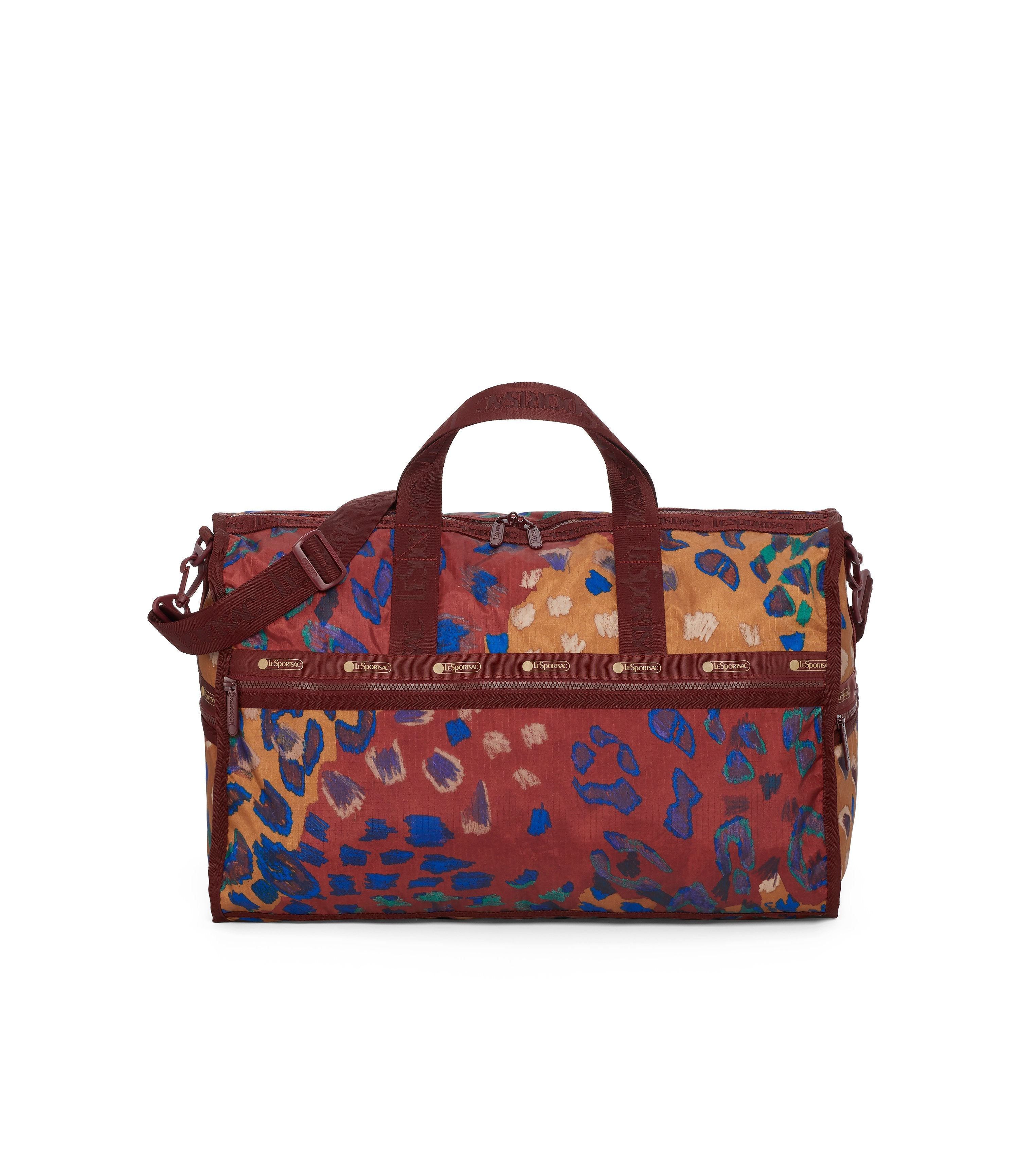 Large Weekender Bags, Duffle Bags, Carry-on, LeSportsac, Cheetaaah print