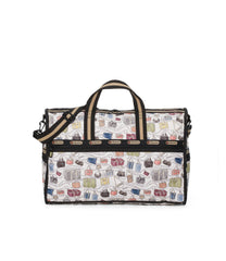 Large Weekender Bags, Duffle Bags, Carry-on, LeSportsac, LeSportsac History print