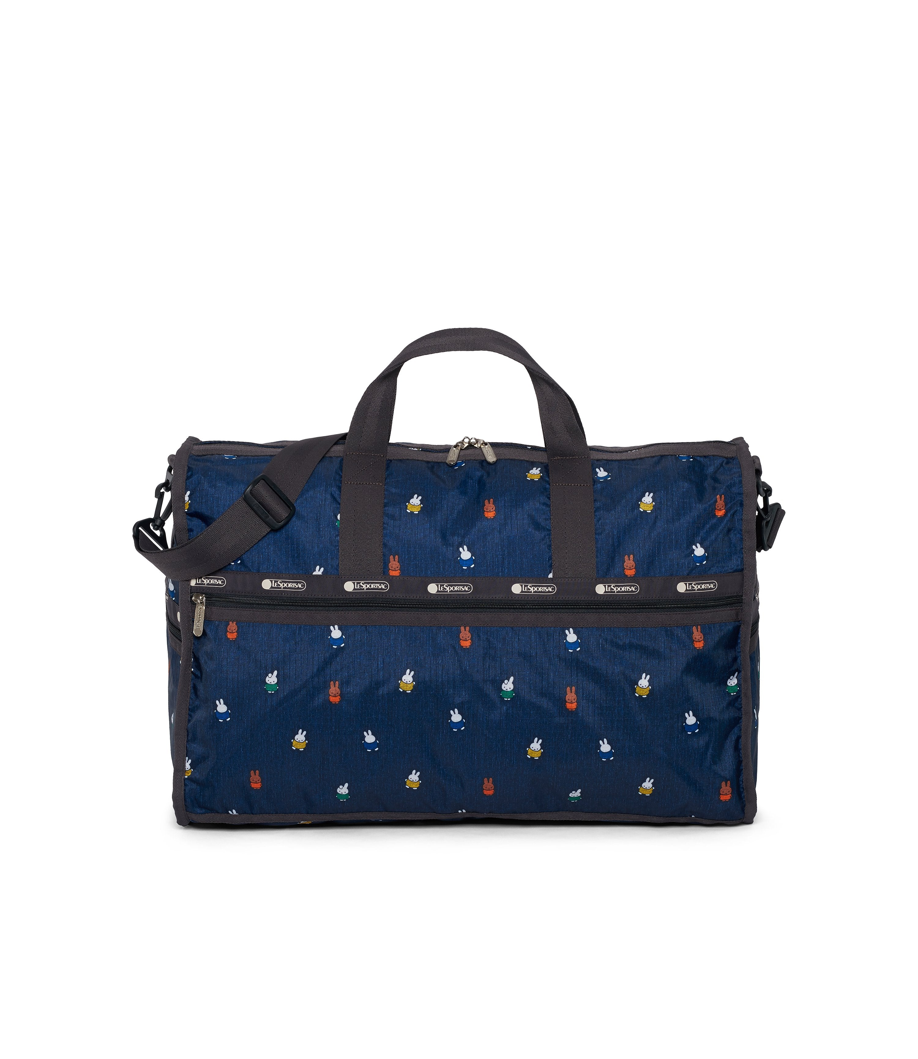 Dick Bruna - LeSportsac Large Weekender - Duffle - Miffy and Friends - Navy -  Front View