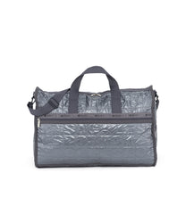 Large Weekender Bags, Duffle Bags, Carry-on, LeSportsac, Sterling Foil solid, Sale